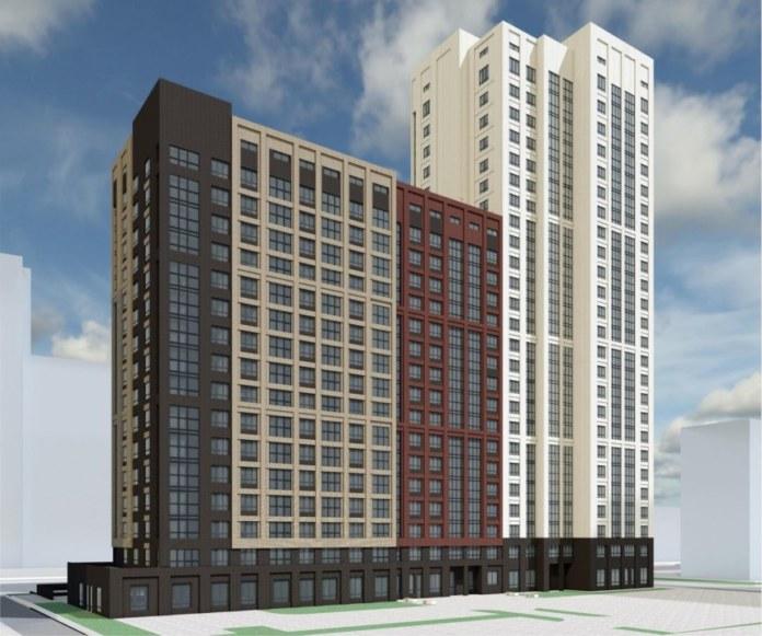 Миниатюра для: В центре Новосибирска построят квартал во французском стиле