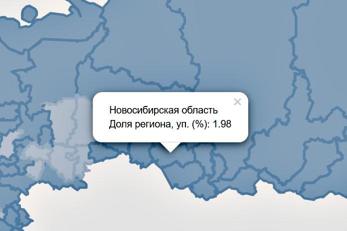 Регионы Сибири