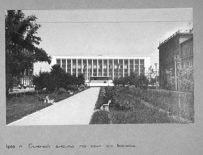 ГПНТБ СО РАН 1966 годото из архива библиотеки.