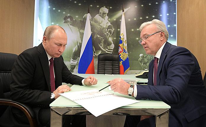встреча Усса с Путиным