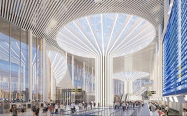 проект реконструкции аэровокзального комплекса аэропорта Толмачево