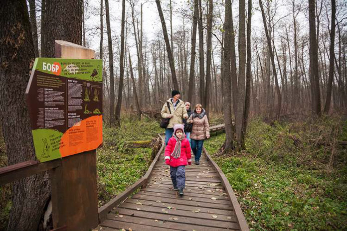 Заельцовский парк экологическая тропа