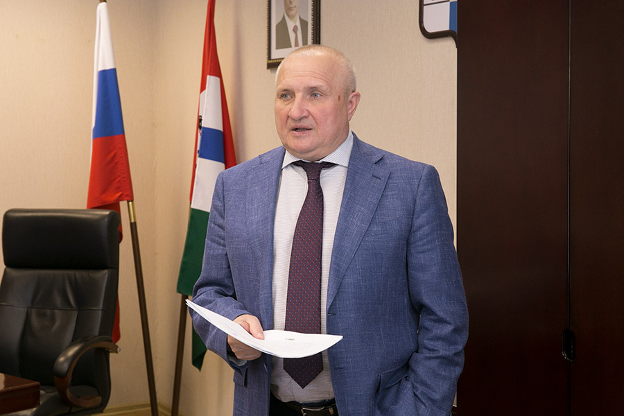 Уполномоченный по защите прав предпринимателей по Новосибирской области НИКОЛАЙ МАМУЛАТ