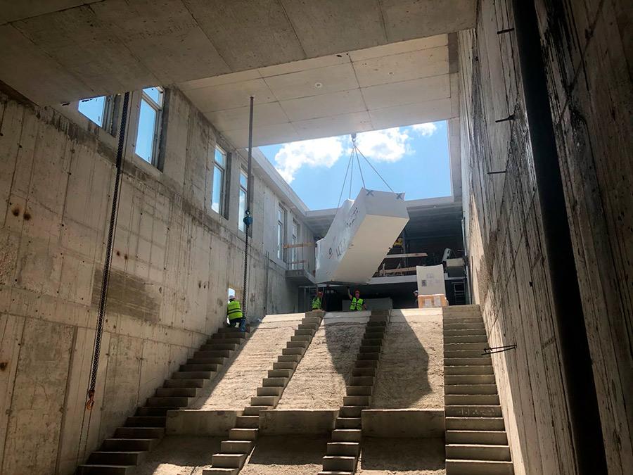 стройка станции Спортивная