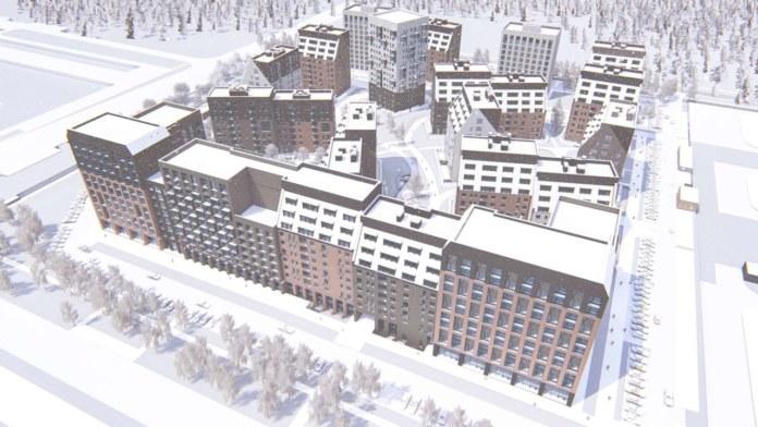 Миниатюра для: Четыре концептуальных проекта новосибирских ЖК выдвинуты на конкурс архитектурного фестиваля «Золотая капитель»