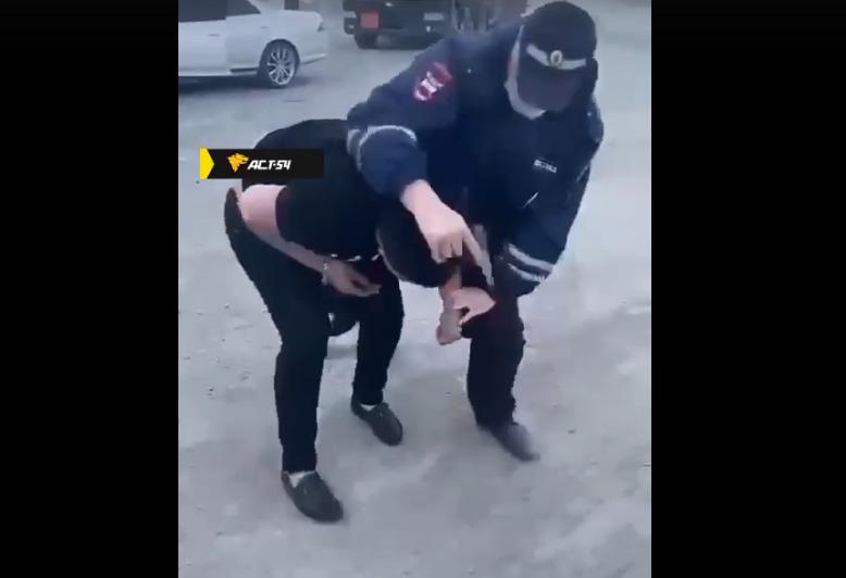 Задержание в Мошковском районе