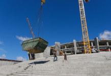 Многофункциональная ледовая арена в Новосибирске — как идет строительство - Фото