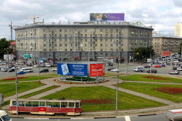 Миниатюра для: Камень на месте будущей стелы «Город трудовой доблести» установят в Новосибирске 9 мая