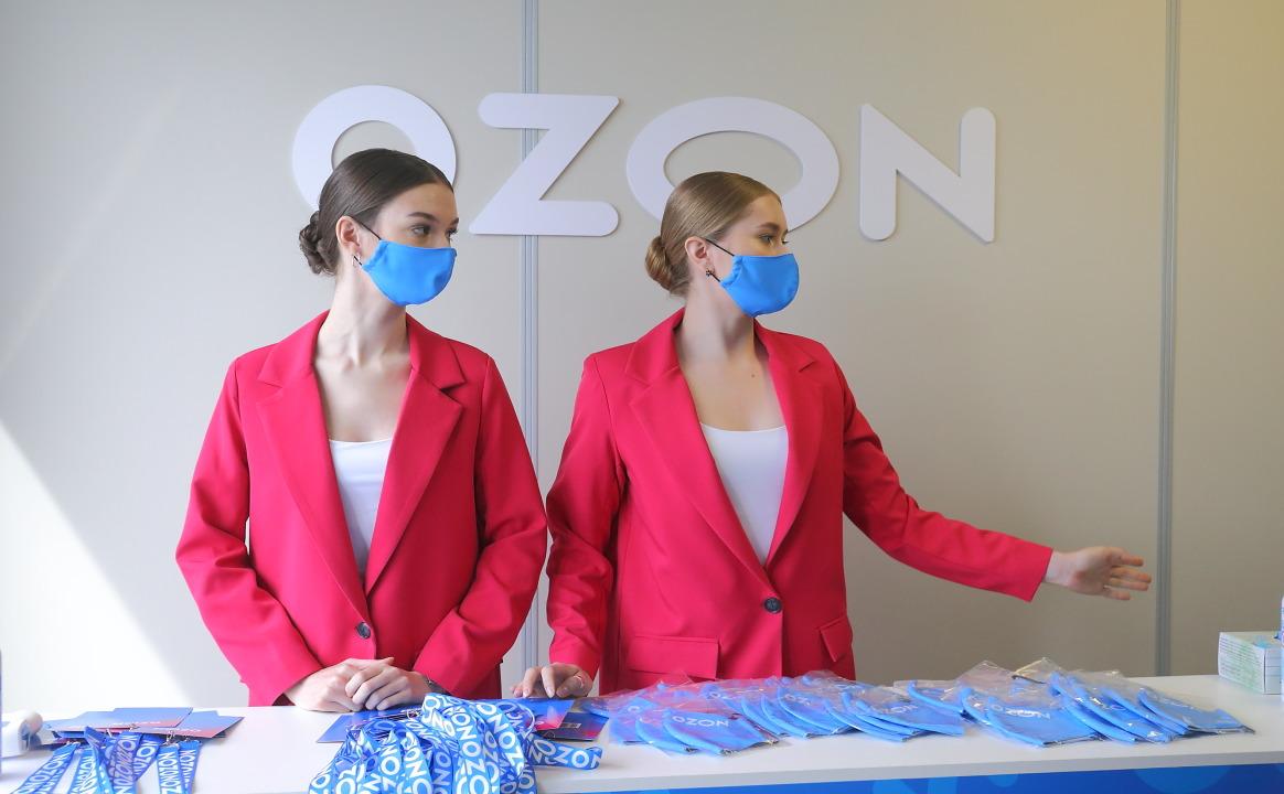 Логистический центр Ozon перед открытием