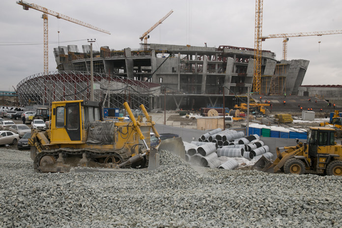 Миниатюра для: В строительстве ледовой арены в Новосибирске нашли нарушения проектной документации и техрегламента