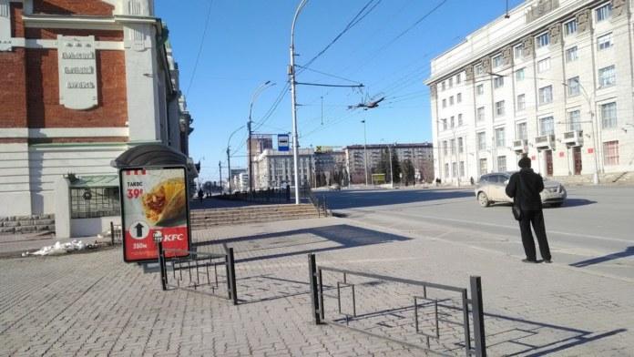 Миниатюра для: Парковку и движение автомобилей ограничили в центре Новосибирска 7 мая