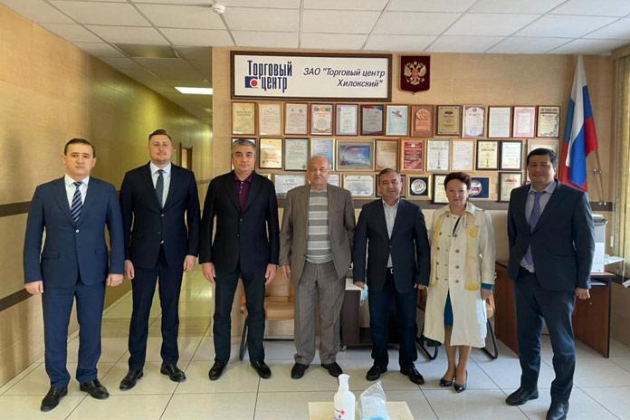 Делегация правительства Узбекистана