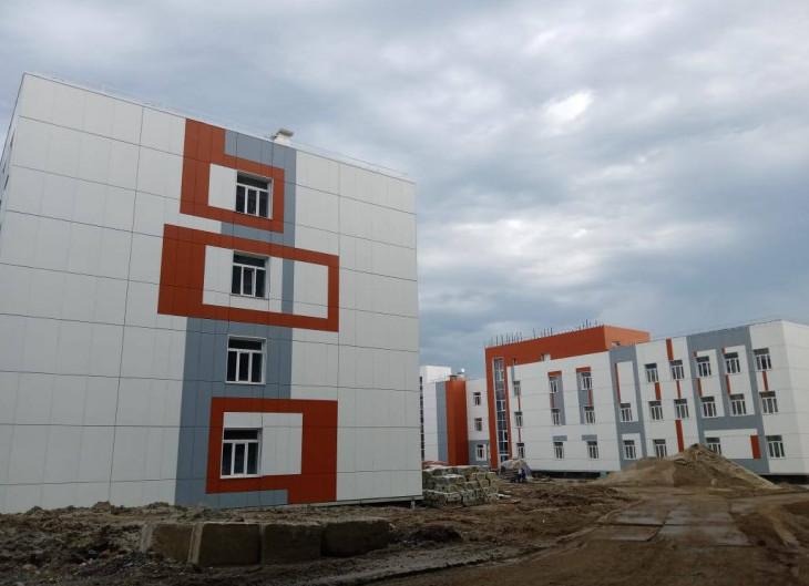 """Строительство школы на """"Родниках"""""""