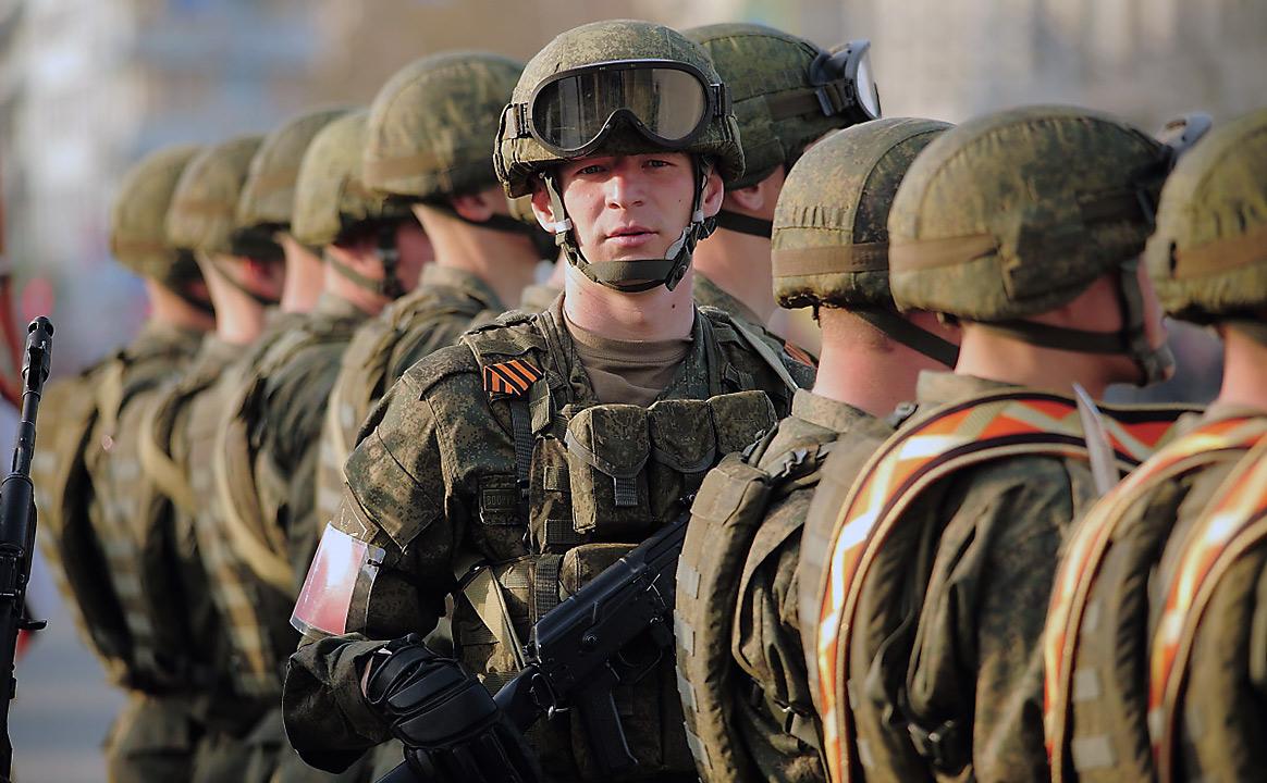 Репетиция Парада Победы военные