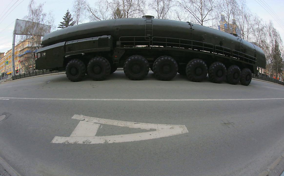 Репетиция Парада Победы ПВО