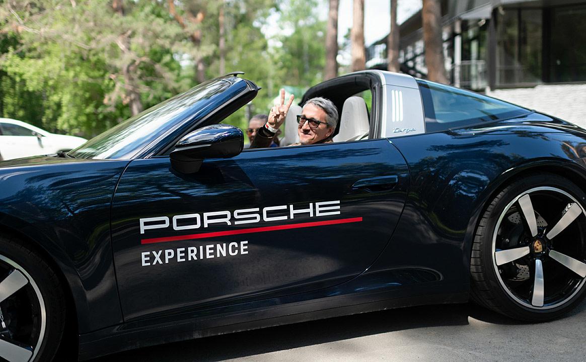 Тест-драйв Porsche