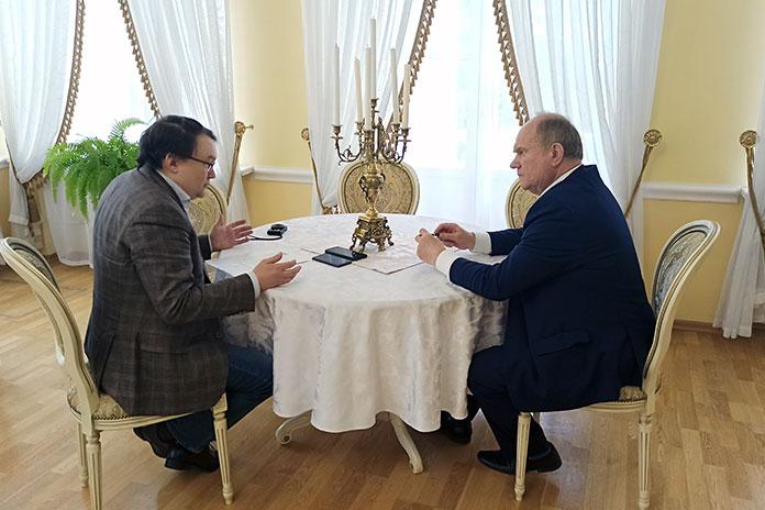 Геннадий Зюганов Вадим Кашафутдинов