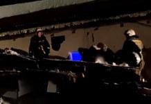 Обрушение крыши новосибирского ночного клуба