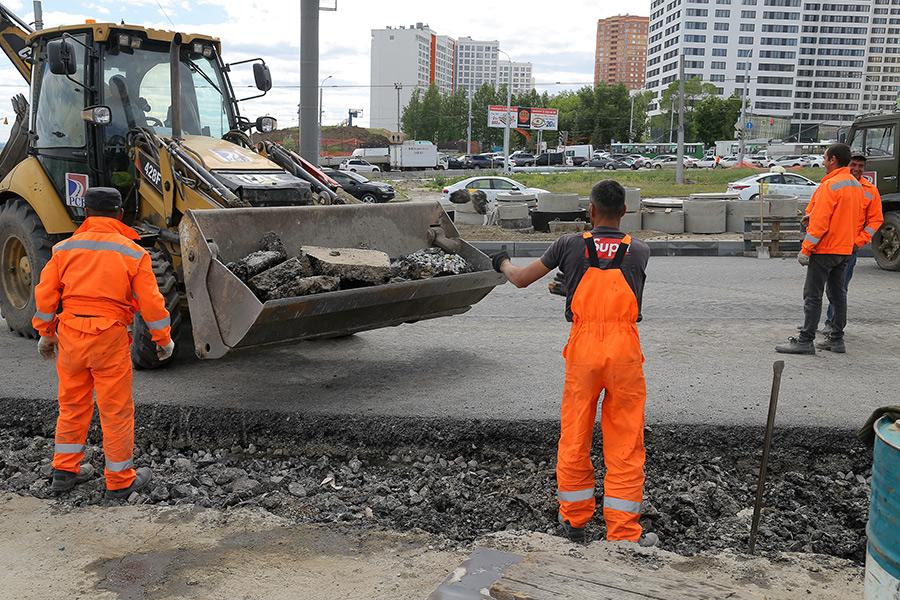 Основной объем работ по реконструкции площади Лыщинского в Новосибирске будет выполнен до конца года - Фотография