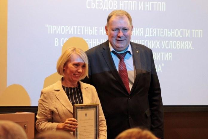 Миниатюра для: В Новосибирске отпраздновали юбилеи городской и областной торгово-промышленных палат