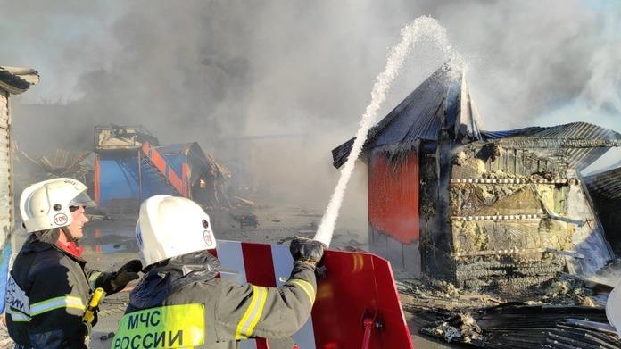 Взрыв АГЗС Новосибирск