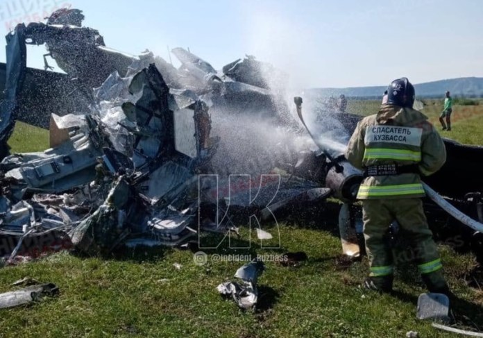 Авиакатастрофа в Кузбассе