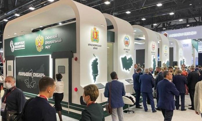 Миниатюра для: Регионы СФО подписали на ПМЭФ-2021 соглашения на полтриллиона рублей