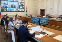 Заседание в правительстве НСО
