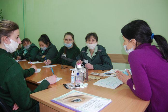 Заключенные ГУФСИН колония занятие образование Опора России