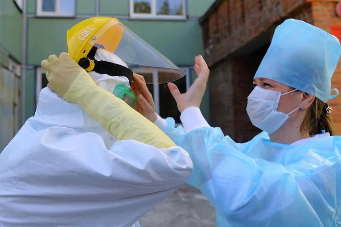 641 койку для больных коронавирусом развернули в Новосибирской области