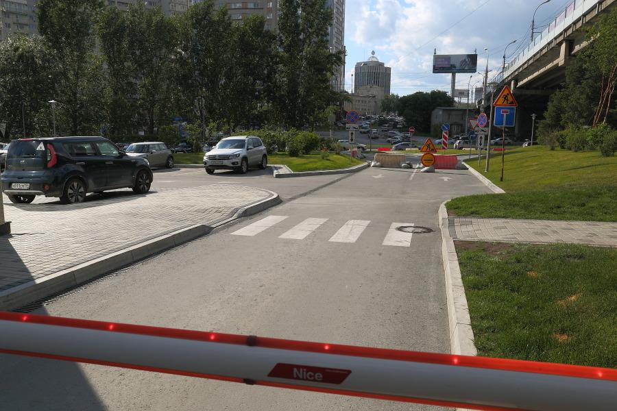 Проезд закрыт на ремонт