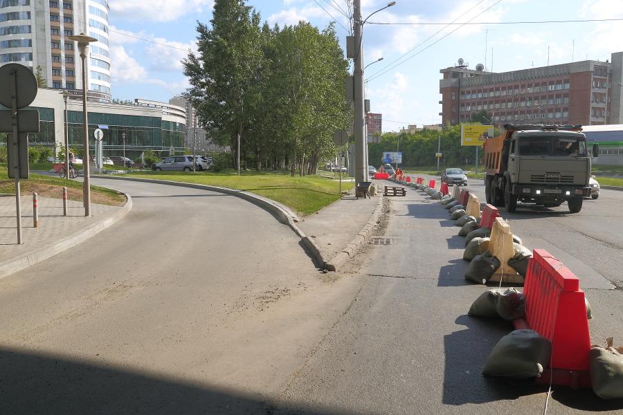 дорога закрыта на ремонт