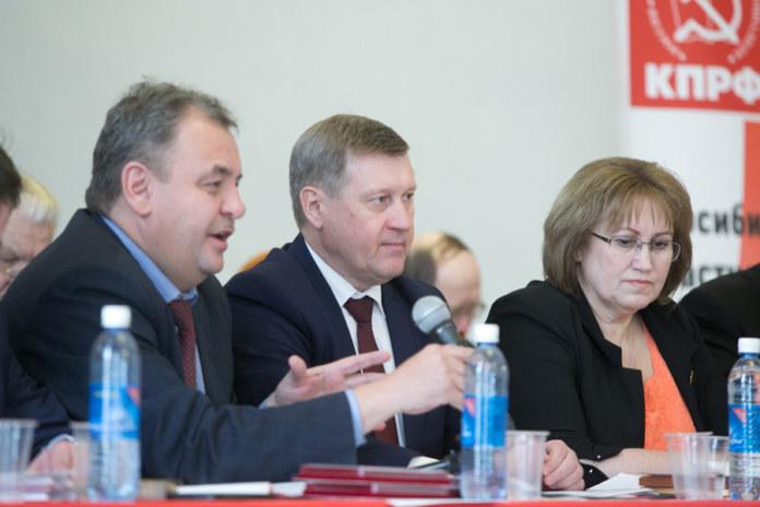 Миниатюра для: Мэр Новосибирска опять возглавит список КПРФ на выборах в Госдуму