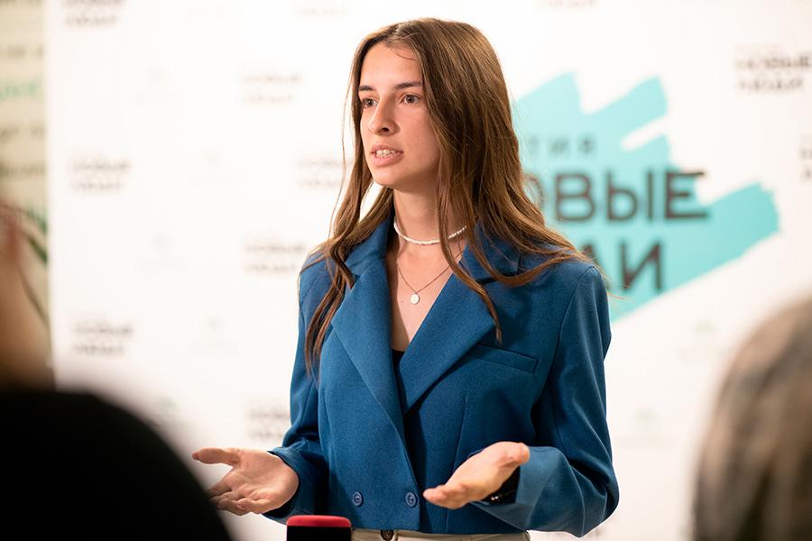 Студентка третьего курса факультета «Капитаны», жительница Волгограда Анастасия Филиппова