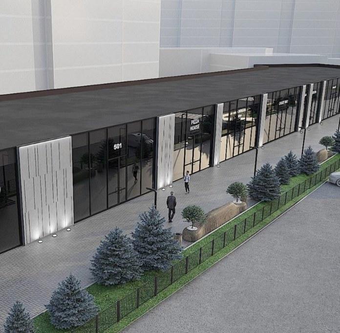 Миниатюра для: В Новосибирске проведут редевелопмент здания на Вокзальной магистрали для дальнейшего размещения ресторанов и стрит-ритейла