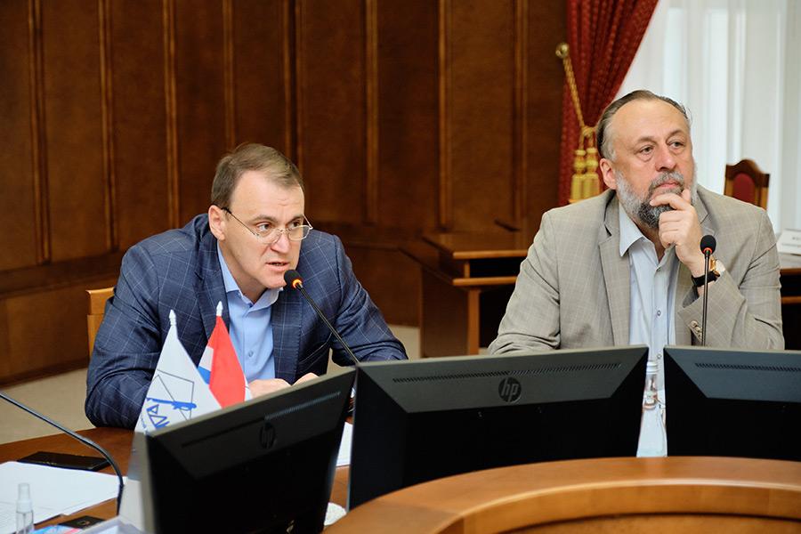 Иван Шмидт и Александр Ложкин