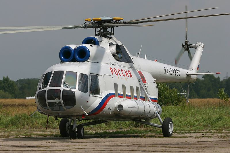 Аварийная посадка вертолета санавивации Ми-8
