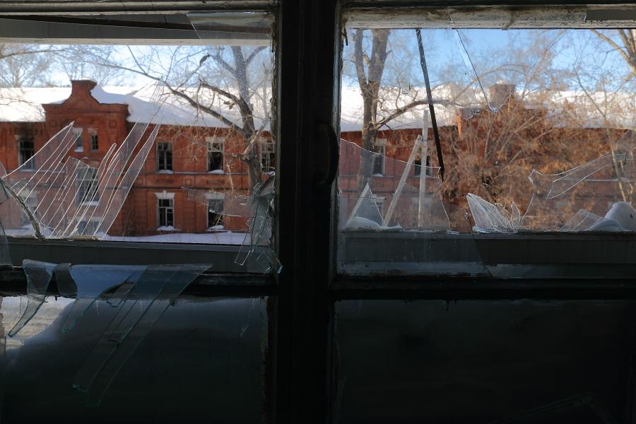 здания на территории Военного городка требуют серьезной реставрации