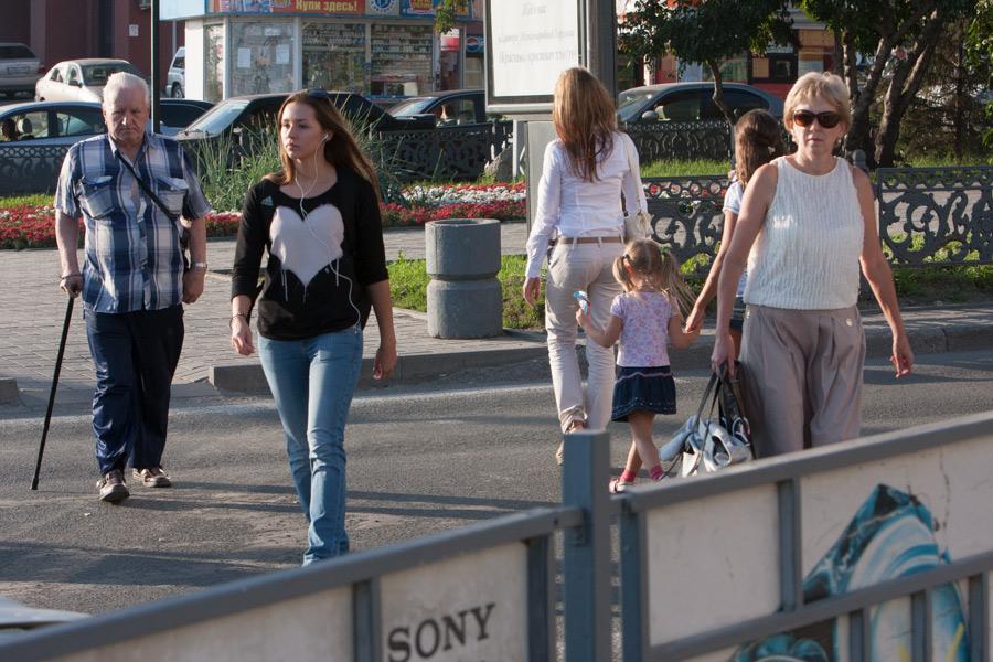 Люди, население, Новосибирск
