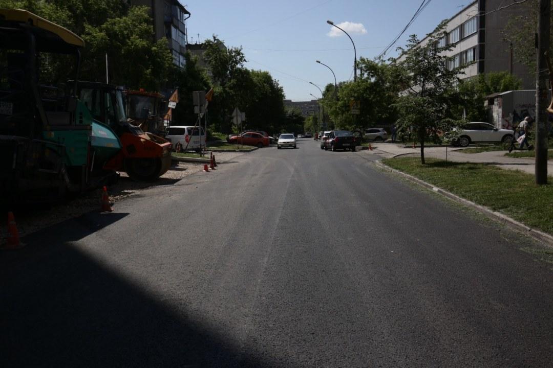 реконструкцию проспекта Маркса состоится в 2022 году