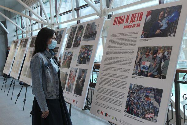 Новосибирск пригородный вокзал выставка экспозиция фото стенды