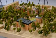 макет нового кампуса НГУ