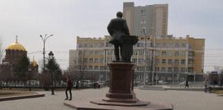 Площадь Свердлова Новосибирск