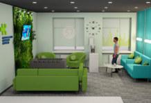 Зона отдыха S7 Новосибирская областная больница врачи релаксация