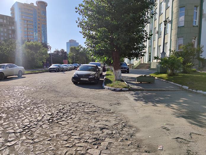Дорога в Новосибирске