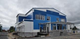 Строительство спорткомплекса в Колывани Новосибирская область