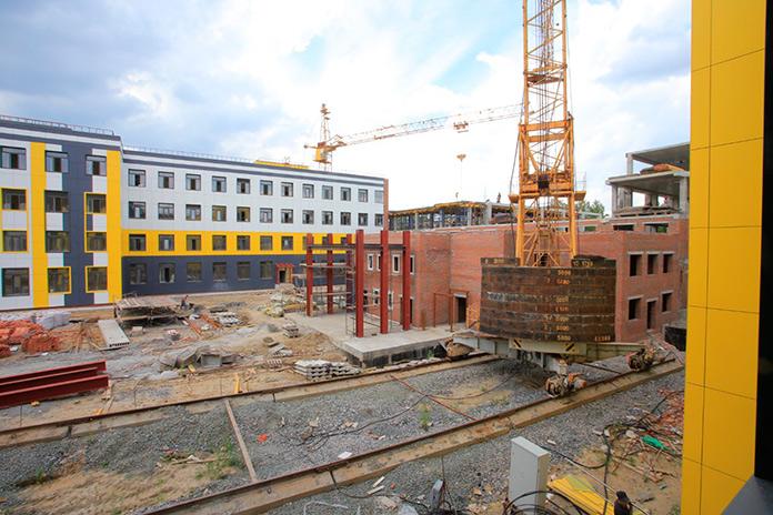 строительство гимназии