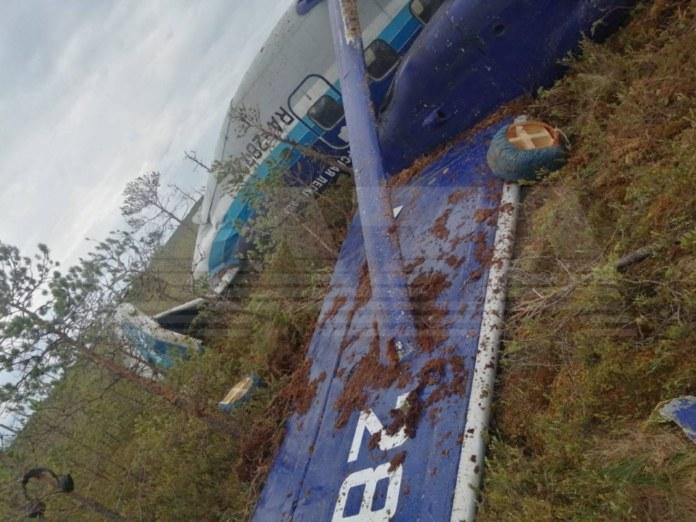 Миниатюра для: Названы вероятные причины жесткой посадки Ан-28 в тайге в Томской области