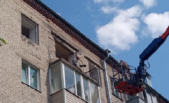 Взрыв газа в жилом доме Барнаула