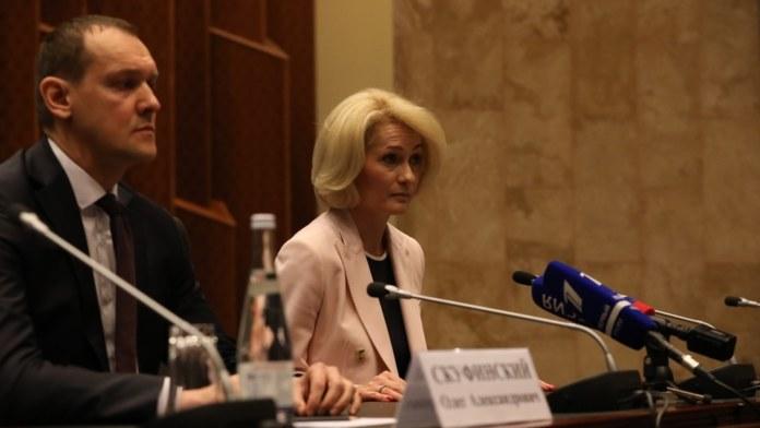 Миниатюра для: В федеральные кураторы СФО прочат отвечающую за экологию и АПК Викторию Абрамченко